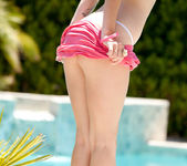 Hailey Leigh - Poolside In Pink 10