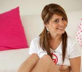Hailey Leigh - White T-Shirt 5