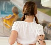 Hailey Leigh - White T-Shirt 13
