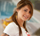 Hailey Leigh - White T-Shirt 14