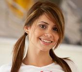 Hailey Leigh - White T-Shirt 15