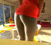 Pictures of Hailey Leigh teasing her fans on webcam 11
