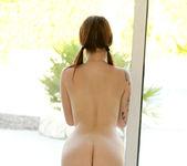 Hailey Leigh in a sexy plaid skirt 15