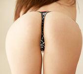 Hailey Leigh strips naked in the livingroom 5