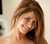 Hailey Leigh strips naked in the livingroom 9