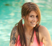 Hailey Leigh - Pink In Pool 4