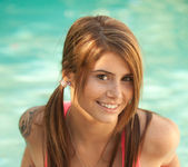 Hailey Leigh - Pink In Pool 6