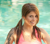 Hailey Leigh - Pink In Pool 8