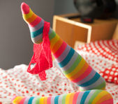 Hailey Leigh - Striped Socks 8