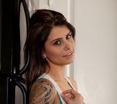 Hailey Leigh - White Tanktop 6