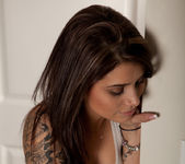 Hailey Leigh - White Tanktop 10