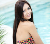 Natasha Belle - Poolside Strip 3
