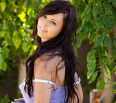 Natasha Belle - Outside In Purple 7