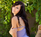 Natasha Belle - Outside In Purple 15