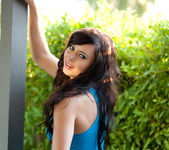 Natasha Belle - Outside In Blue 7