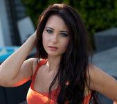 Natasha Belle - Sporty Blue Shorts 4