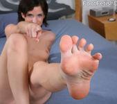 Petra Davis European Feet with Hairy Bush 3