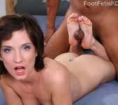 Petra Davis European Feet with Hairy Bush 14