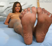 Alicia Tease Sexy Calves and Feet 7