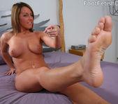 Jennifer Cute French Pedicure 2