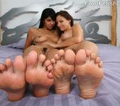 Sochee Mala Lesbian Feet Licking 9