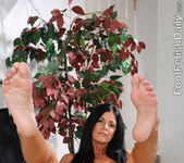 India Summer Creamy Footjob 8