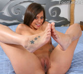 Mia Lina Flexible Latina with Smooth Footsies 6