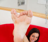 Gracie Glam Cum Coated Footjob 3