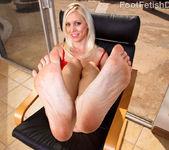 Kacey Villainess Feet Tease along with Hardcore Sex 4
