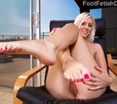 Kacey Villainess Feet Tease along with Hardcore Sex 6