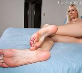 Kacey Villainess Feet Tease along with Hardcore Sex 7