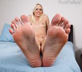 Kacey Villainess Feet Tease along with Hardcore Sex 8