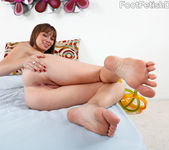 Capri Anderson and Ruby Knox Toe-Sucking and Pussy Playing 3