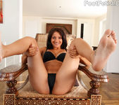 Maya Bazin Great Nipples and Foot Cum Shot 3