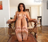 Maya Bazin Great Nipples and Foot Cum Shot 5