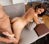 Maya Bazin Great Nipples and Foot Cum Shot 12