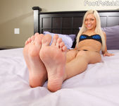 Kacey Jordan Exposes Feet and Rides the Cock 2