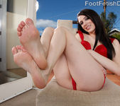 Aiden and Chayse Evans Hot Lesbian Foot Fetish Playing 2
