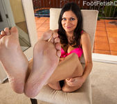 Adriana Kelly Takes in Big Black Cock and Cum on Feet 2