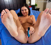 Adriana Kelly Takes in Big Black Cock and Cum on Feet 5