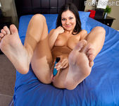 Adriana Kelly Takes in Big Black Cock and Cum on Feet 6
