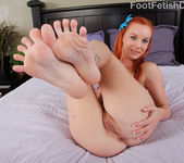 Dani Jensen Rides the Cock and Pussy Eating Footjob 5