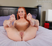 Dani Jensen Rides the Cock and Pussy Eating Footjob 6