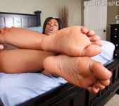 Megan Vaughn - Foot Fetish Daily 10