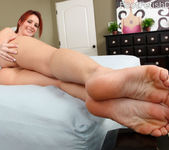 Sexy Redhead Tweety Exposes Smooth Soles and Gets Pounded 5