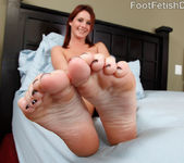 Sexy Redhead Tweety Exposes Smooth Soles and Gets Pounded 7