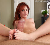 Sexy Redhead Tweety Exposes Smooth Soles and Gets Pounded 13