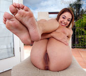 Gigi Rivera Wraps Her Mouth and Toes Around a Fat Cock 7