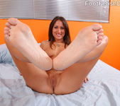 Lizz Tayler Exposes Smooth Soles and Rides the Cock 8