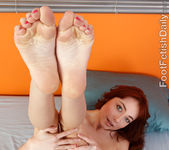 Zoe Voss Gets Her Toes Sucked and Gives a Footjob 4